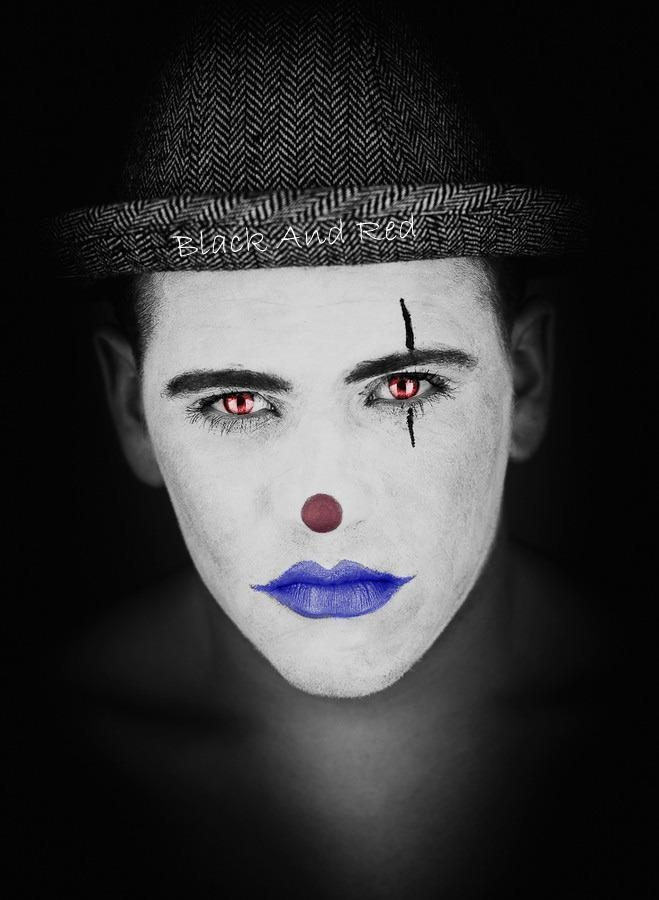 die besten 25 clown gesichter ideen auf pinterest clown gesicht malen halloween clown und. Black Bedroom Furniture Sets. Home Design Ideas