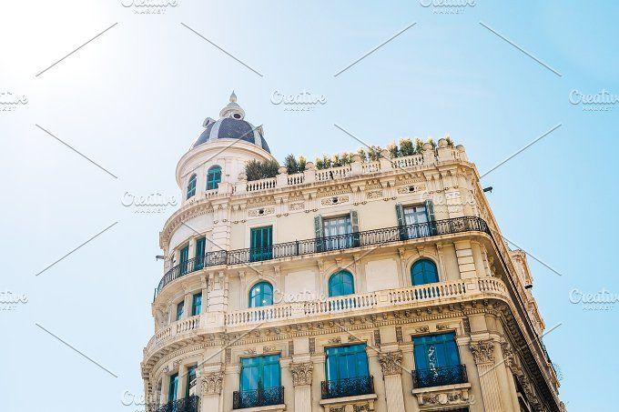 Architecture in Barcelona, Spain by Borishots on @creativemarket