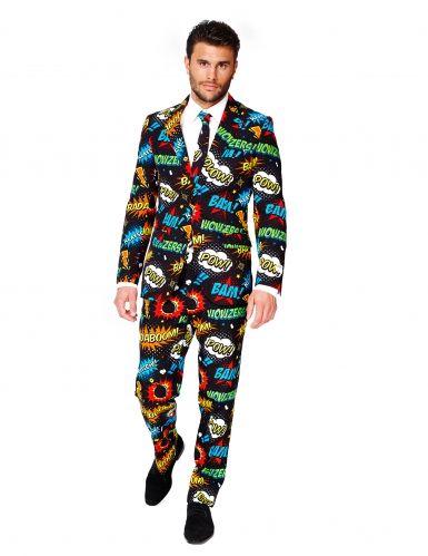 Costume Mr Comics per uomo Opposuits™: perfetto per un evento in maschera a tema sul mondo dei fumetti!