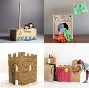 Más propuestas para este fin de semana:   ¿Qué hacer con las cajas de una mudanza o de los regalos... pinned with Pinvolve