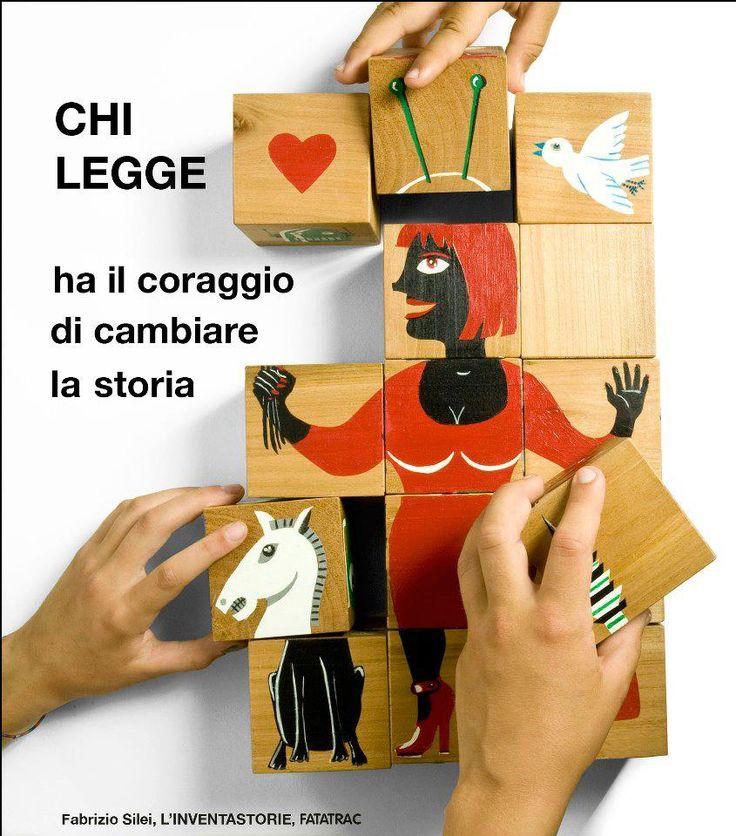 #ChiLegge... ha il coraggio di cambiare la storia.  http://www.giunti.it/libri/bambini/l-inventastorie3/