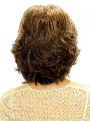 Medium Length- layered Hairstyles for Round Faces 2
