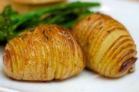 Hasselback : Pommes de terre à la suédoise