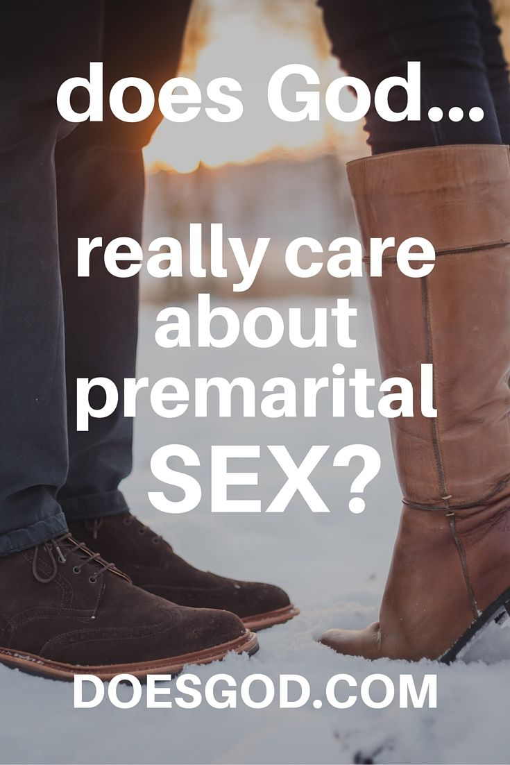 does god hate premarital sex