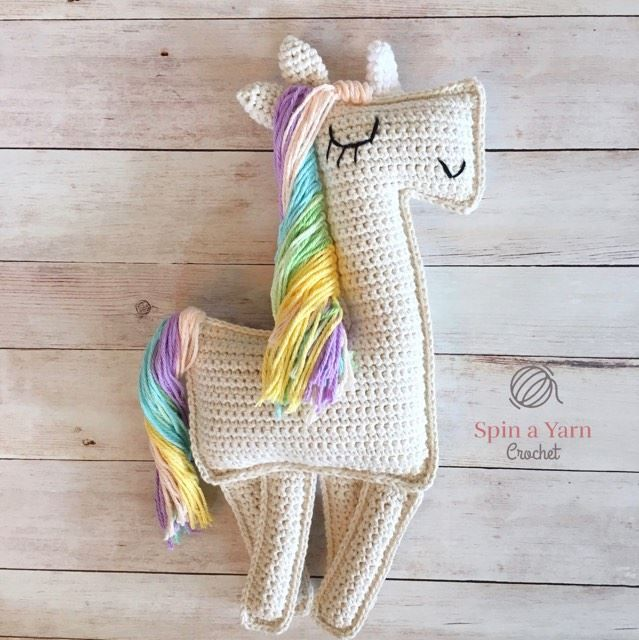 Ragdoll Unicorn Free Crochet Pattern