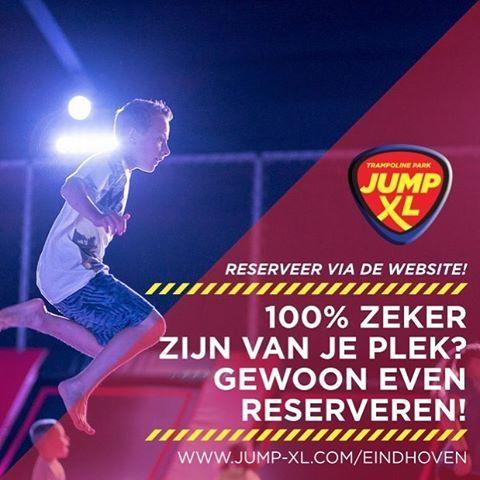 Je bent ook in de #kerstvakantie meer dan #welkom bij Jump XL #Eindhoven! We raden je wel aan om even te #reserveren via de website! De link vind je in onze bio. #jumpxleindhoven #jumpxl #eindje #jumpen #trampoline #arena #linkinbio
