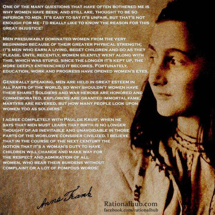Anne Frank. So wise beyond her years. It would have been such a joy to see what she could have accomplished if not for bigotry and hatred taking her life far too soon.: Anne Frank ️, Hero, Essential Quotes, Books Worth, Anne Frank The, Feminism Women S History