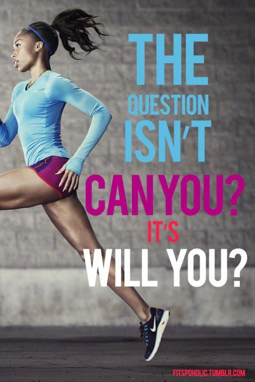 Will you? #running #run #exercise #fitness #quote #motivation