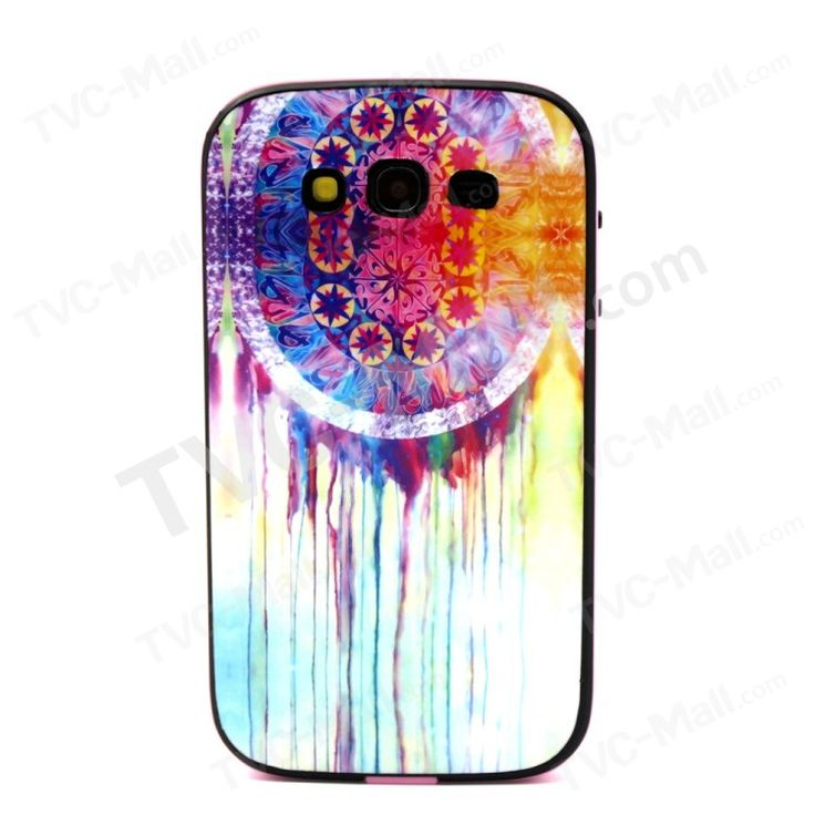 Watercolor Dreamcatcher for Samsung Galaxy Grand Neo I9060 I9080 PC and TPU Hybrid Cover