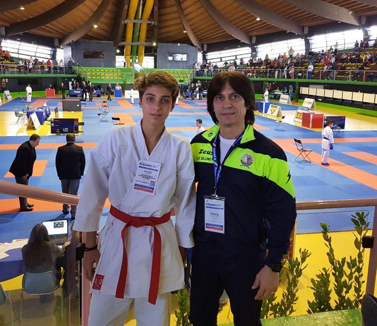 Esordio Nazionale di Piero Riga al 28° Campionato Italiano Esordienti A di Karate - Nel weekend di Sabato 4 e Domenica 5 Novembre, al Centro Olimpico Federale di Ostia sono andate in scena le finali del 28° campionato italiano Esordienti A di Karate Kumite e Kata  - http://www.ilcirotano.it/2017/11/10/esordio-nazionale-di-piero-riga-al-28-campionato-italiano-esordienti-a-di-karate/