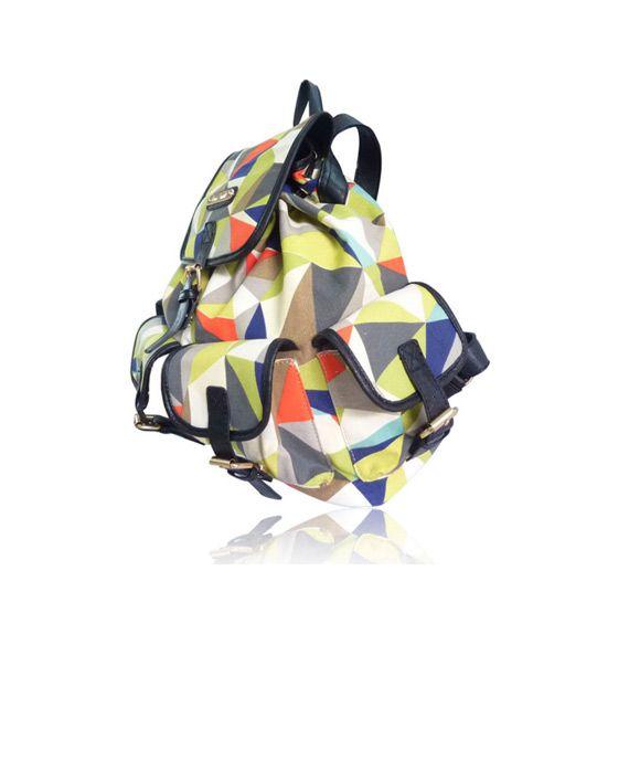Anna Smith – ryggsekk med geometrisk trykk | Moody.no