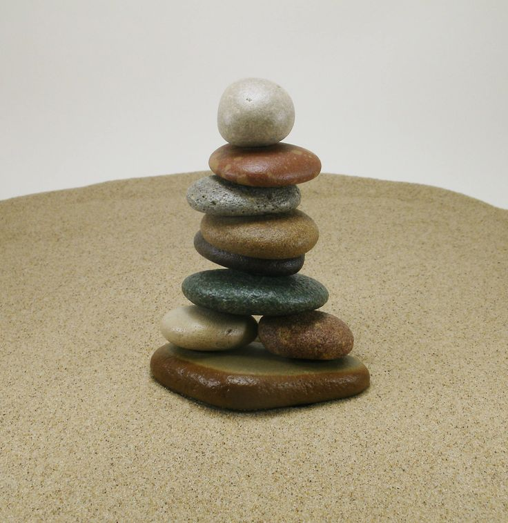 South Haven and Saugatuck Beach Stone Cairn #263, Beach Rock Cairn, Stacked Stone Cairn, Natural Stone Gift, Cottage Art, Stone Office Art by StoneCairns on Etsy
