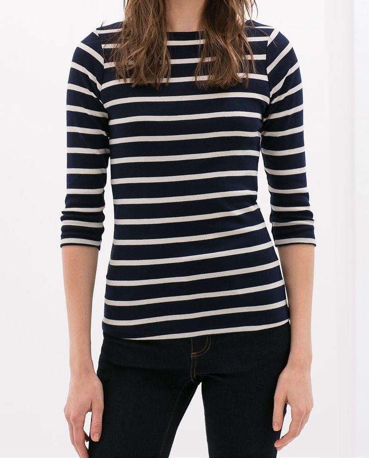 Image 1 of ORGANIC COTTON T-SHIRT from Zara
