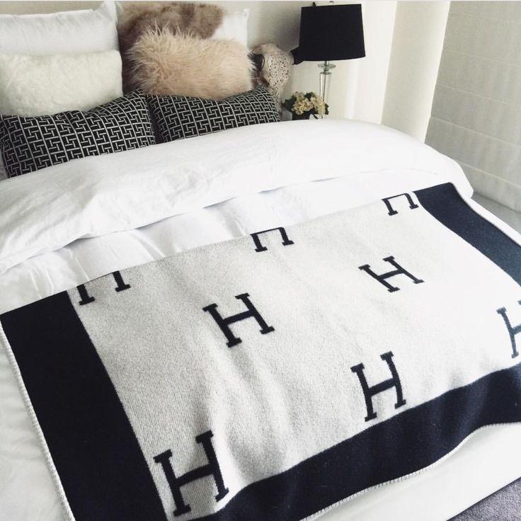 Bedroom Furniture Types Black And Champagne Bedroom Bedroom Colour Pictures Horse Bedroom Decorating Ideas: Best 25+ Hermes Blanket Ideas On Pinterest