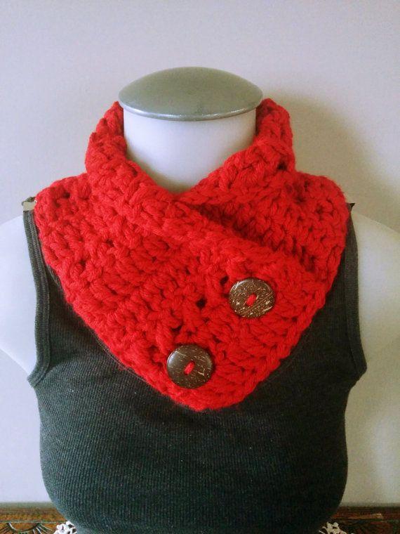 Crochet Red Cowl Infinity Scarf Dog Stuff by TillysCozyHooks #crochetcowl#knittedcowl#cozycowl #uniquecowl#winterfashion#winterstyle #winterfashion#wintermusthave#infinityscarf #infinitycowl#infinityscarves#ladiesfashion #ladiesscarves#ladiescowl#womensscarves #womenscowl#forher #doggyfashion #dogcollar #dogcowl #kidsfashion #kidscowl