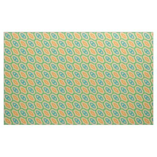 Shapes pattern fabric