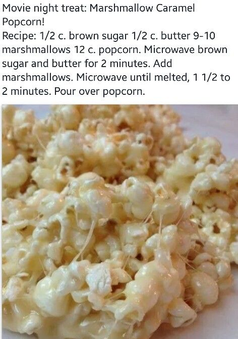 Marshmellow popcorn