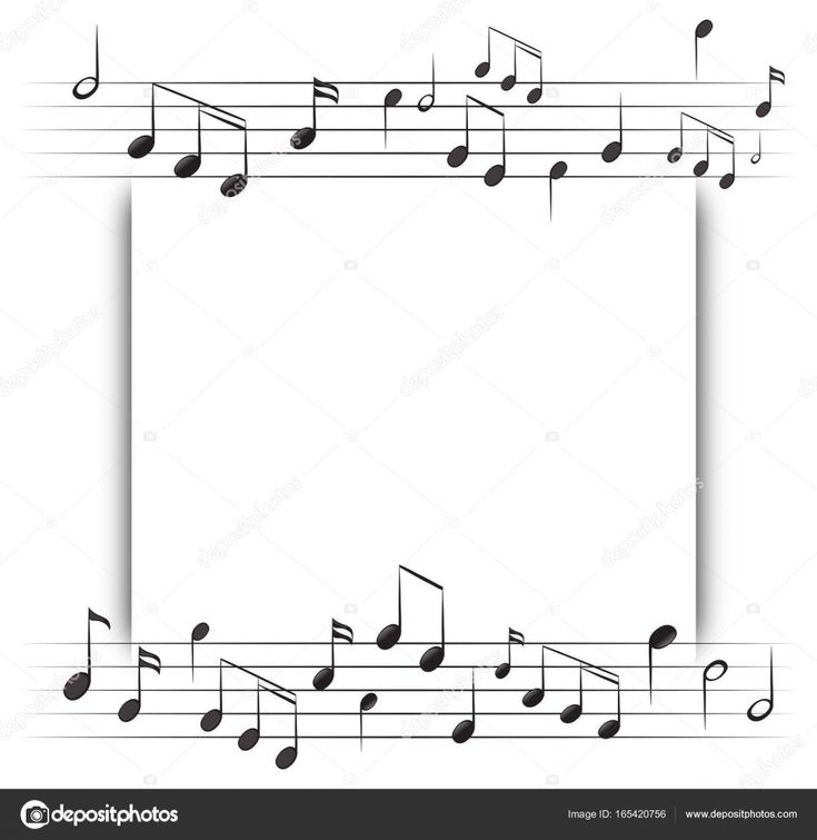 Spreadsheet Examples Sheet Music Ate Printable Guitar For throughout Blank Sheet Music Template ...
