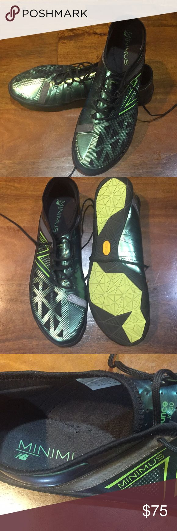 New Balance Minimus Shoes Like new...only worn a couple times. Minimalist running shoes, also great for cross fit or other cross training. New Balance Shoes Sneakers