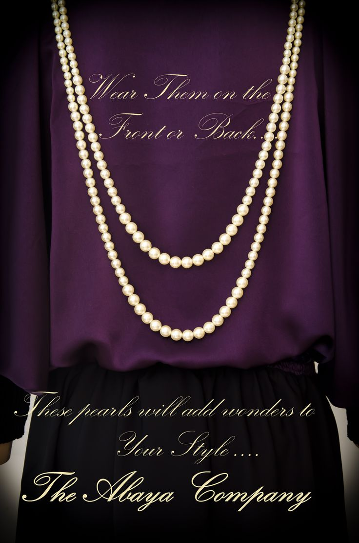 Tres Chic Collection  Lady Love: Beige & Purple  Code: TC004 The pearl hangings can be worn either on the front or on the back to suit your mood! For queries/orders inbox us with you delivery location. Abaya will be made to your cutom size.  You can also follow us on instagram @theabayacompany & whatsapp us at 00971551062559