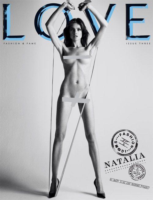 """Natalia Vodianova – 27, 5'9"""", Russia  Measurements: 32A-24-34"""