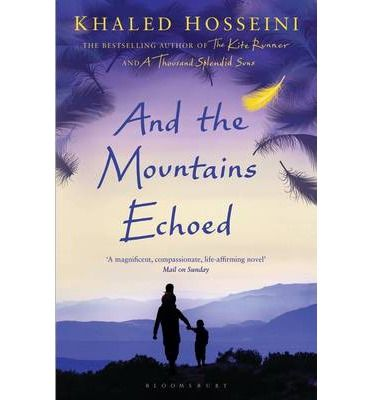 #Book #Contemporary #Fiction And the Mountains Echoed by Khaled Hosseini . So, then. You want a story and I will tell you one...Afghanistan, 1952. Abdullah and his sister Pari live in the small village of Shadbagh. To Abdullah, Pari, as beautiful and sweet-natured as the fairy for which she was named, is everything. More like a parent than a brother, Abdullah will do anything for her, even trading his only pair of shoes for a feather for her treasured collection. Eac...