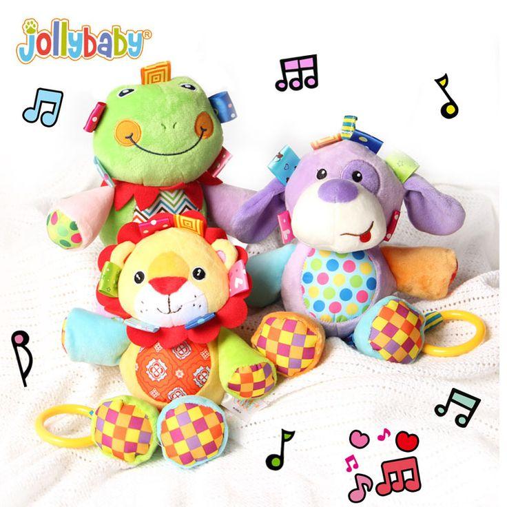 Jollybaby Musicale Carino Peluche Peluche Doll Comodità Del Bambino Culla Appendere Giocattoli Bambino Apprendimento Precoce Educativo del Regalo Dei Bambini
