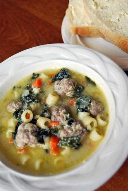 Italian Wedding Soup... My favorite soup