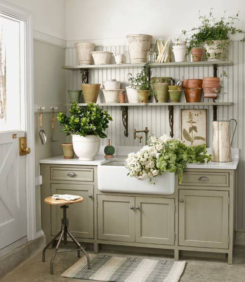 Potting Shed with Sink