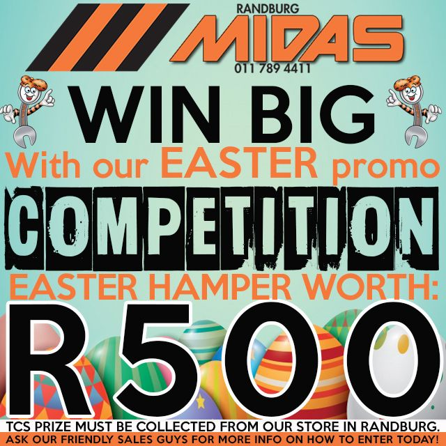Stand a chance to win a special Easter hamper