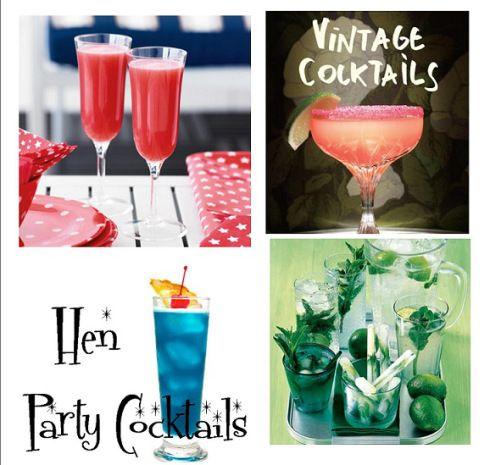 hen party cocktails