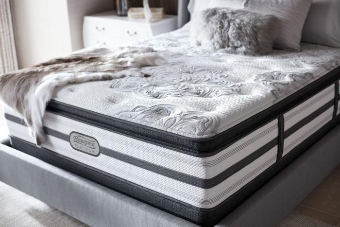 Queen Simmons Beautyrest Platinum Mcneil Plush Pillow Top Mattress Treasure Beautyrest Mattress Firm Pillows Mattress Sets