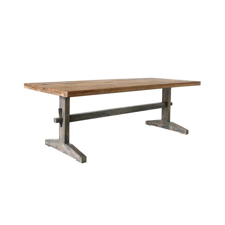 Sanded Teak Table • WOO Design