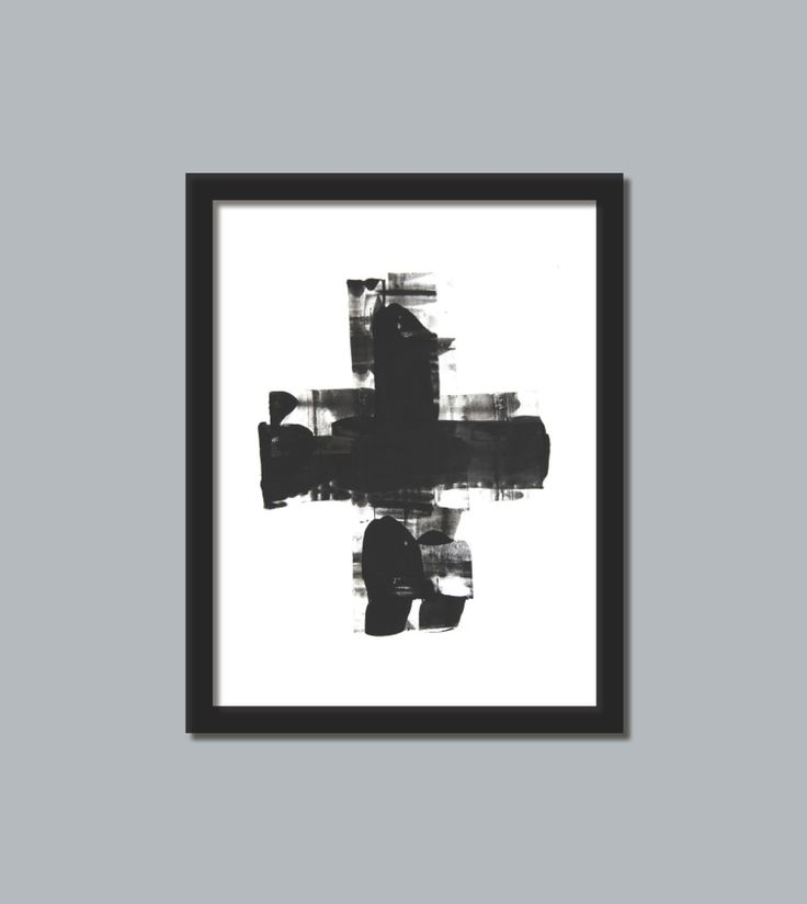 black and white art print 4 black and white 3 modern art print abstract picture poster wall decor contemporary this print would be beautiful to add to your home or business and brings a modern esthetic www.etsy.com/shop/loonhouse