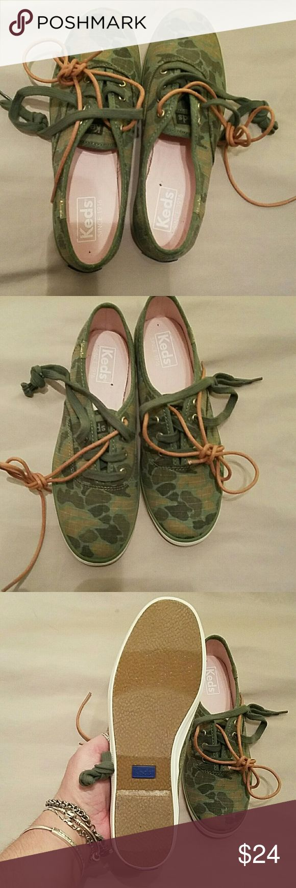 Keds sneakers Brand new sz 6 ked sneakers camouflage very cute keds Shoes Sneakers