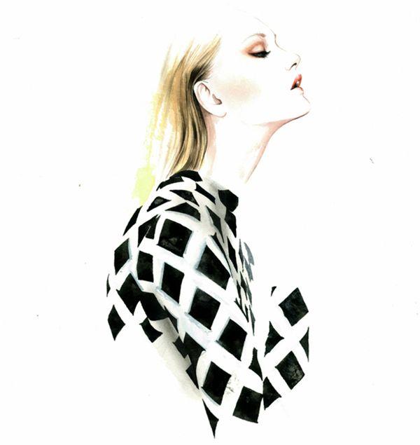 António Soares Fashion Illustrations | Trendland: Fashion Blog & Trend Magazine