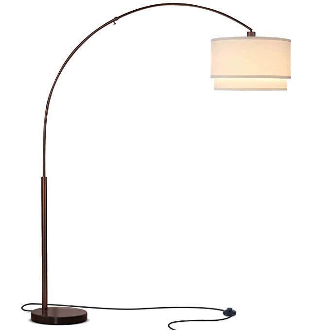 Brightech Mason Led Arc Floor Lamp With