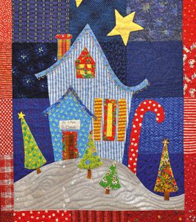 Quilt Inspiration: Our Town Part 4 : Welcome to the North Pole !