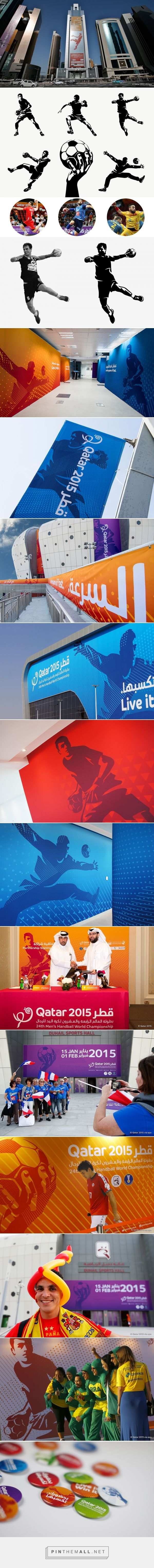 24th Men's Handball World Championship on Behance - created via https://pinthemall.net