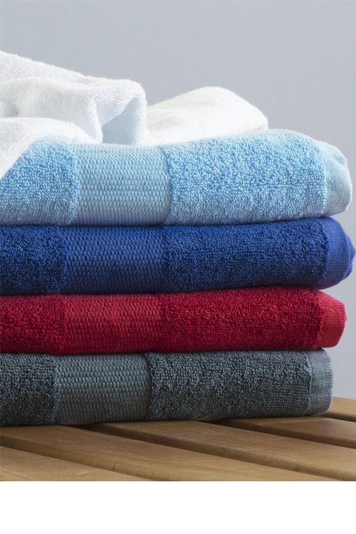 Prosop de plajă Tiber 100x180 Towels by Jassz din 100% bumbac (pieptănat), se poate spăla până la 95° C #personalizare #prosoape #hoteliere