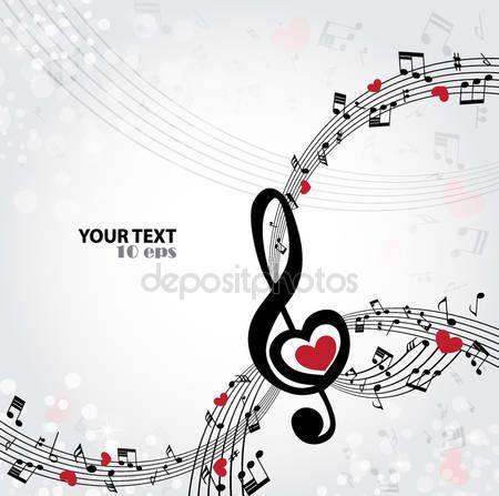 Hudební pozadí — Stocková ilustrace #59541911