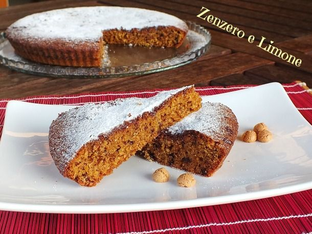 Torta+al+cioccolato+e+amaretti
