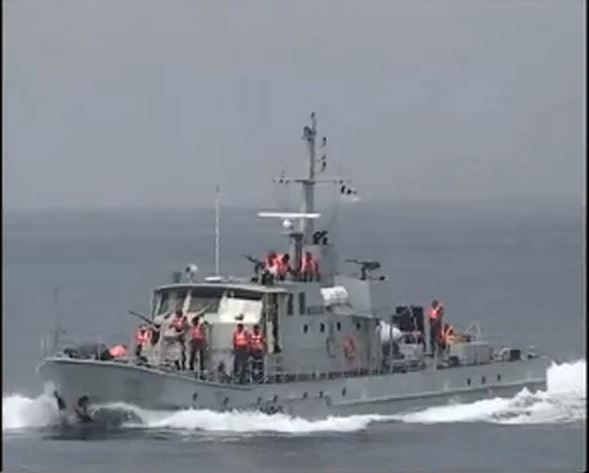 The Nigerian Navy Ship DELTA has decided to make the use of swamp buggies to crush illegal refin...