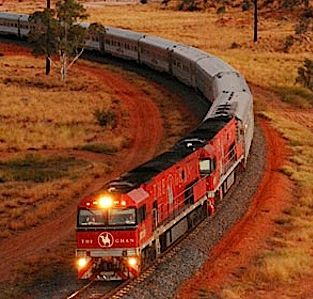 Australia and the Ghan. A dream holiday. Luxury escorted rail holiday with leading rail travel company. For info and to find Great Rail Journey click on the image.