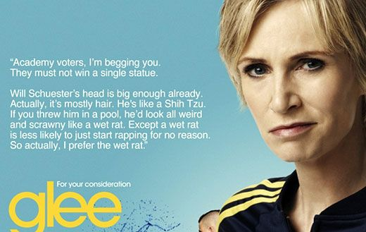 Sue Sylvester / Glee / We all know that she's the one who makes glee funny :)