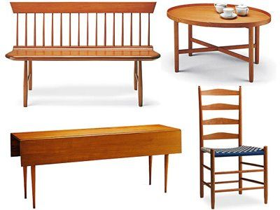 Shakers Furniture  Very Simple.