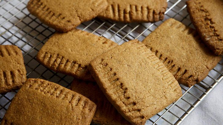 Frank Camorra's Dutch-spiced biscuits, speculaas.