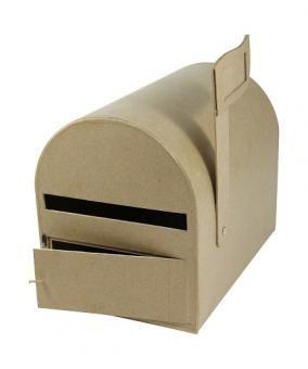 Boîte aux lettres  américaine Papier mâché