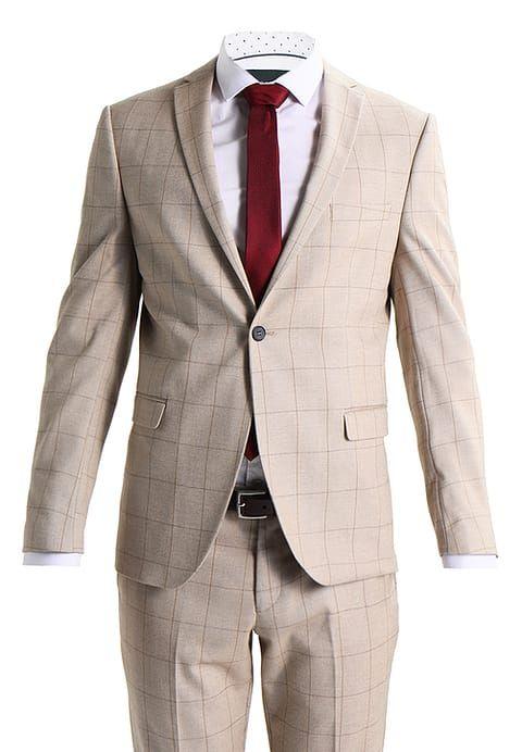 Selected Homme SHXZERO TADWICK - Garnitur - beige/camel za 929 zł (30.03.17) zamów bezpłatnie na Zalando.pl.