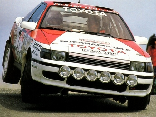 Toyota Celica Turbo 4WD Group A.   Gotta have one, one day. Import it into the country using JDM Legends.